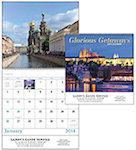 Glorious Getaways Spiral Wall Calendars